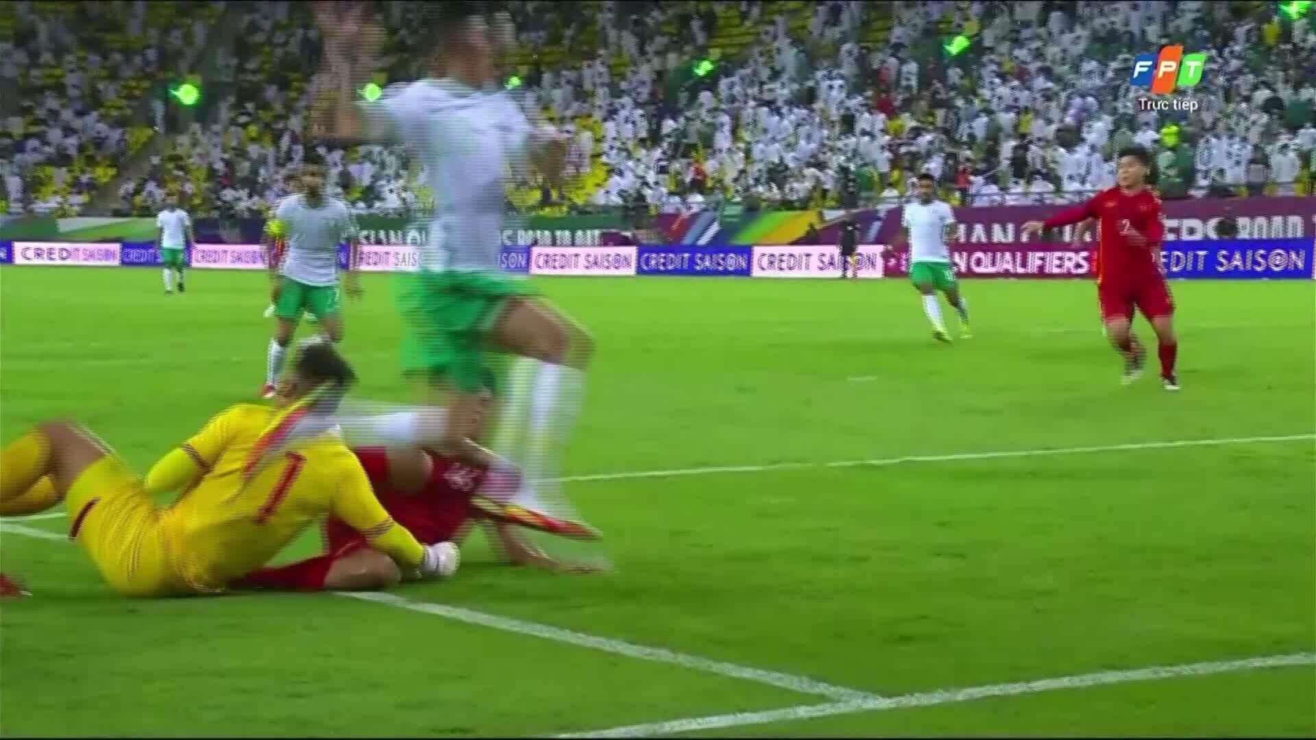 1-1 cho Saudi Arabia