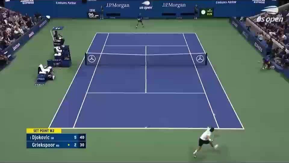 Djokovic phàn nàn ý thức của khán giả Mỹ Mở rộng
