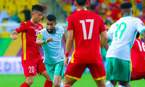 Saudi Arabia 3-1 Việt Nam