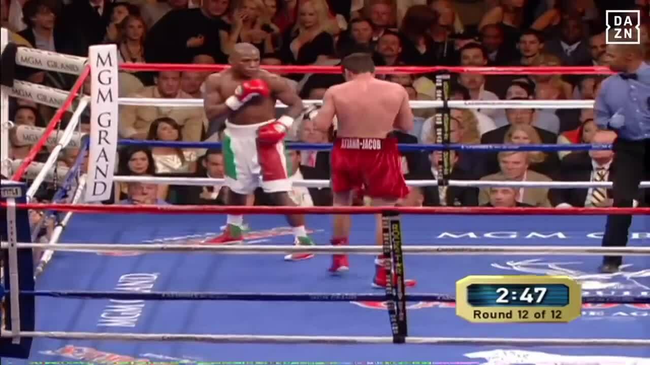 Round 12 De la Hoya vs Mayweather 2007