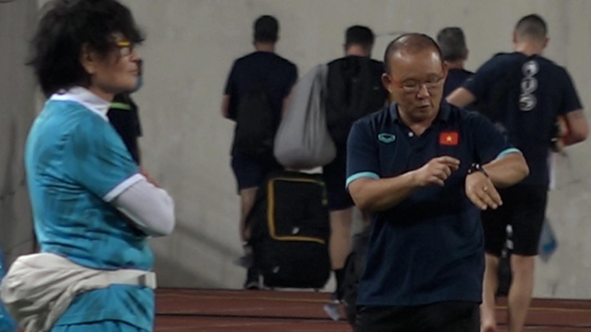 Ông Park thận trọng trước trận gặp Australia
