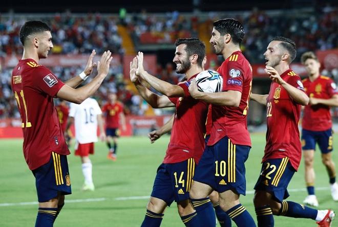 Tây Ban Nha 4-0 Georgia