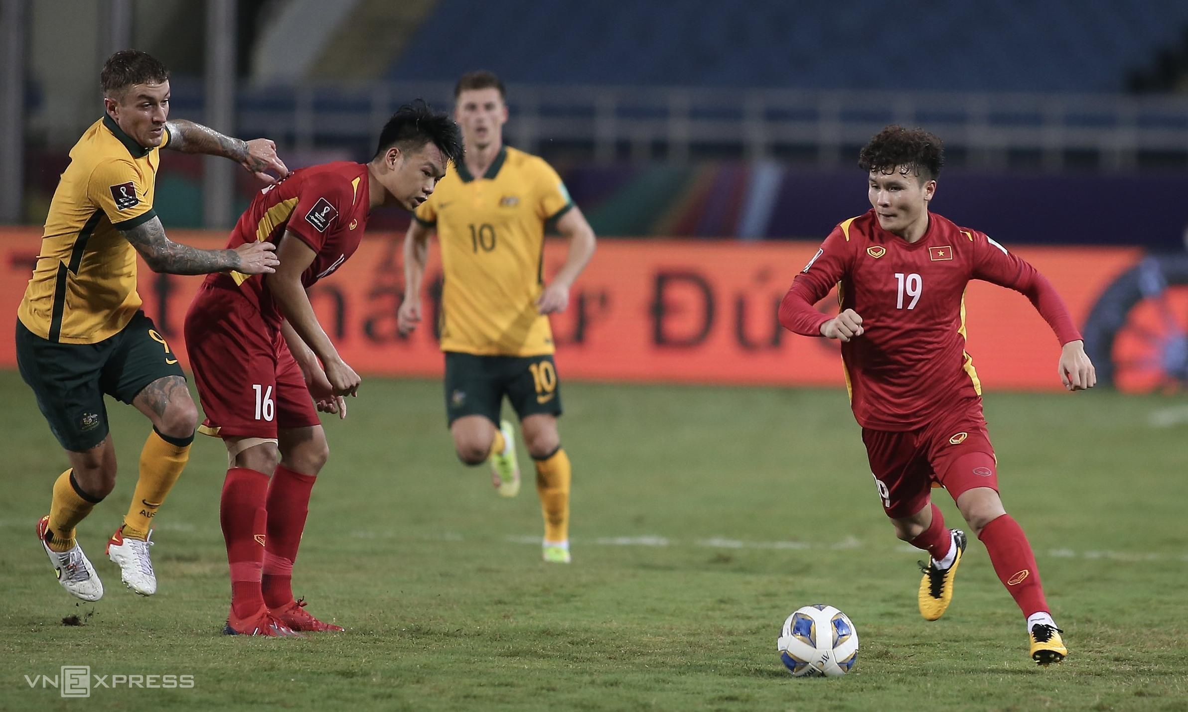 Việt Nam 0-1 Australia