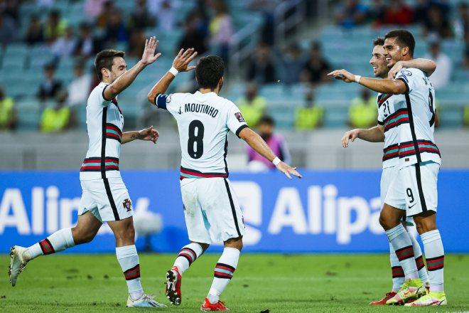 Azerbaijan 0-3 Bồ Đào Nha