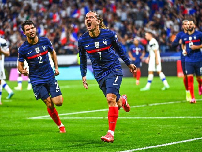 Pháp 2-0 Phần Lan