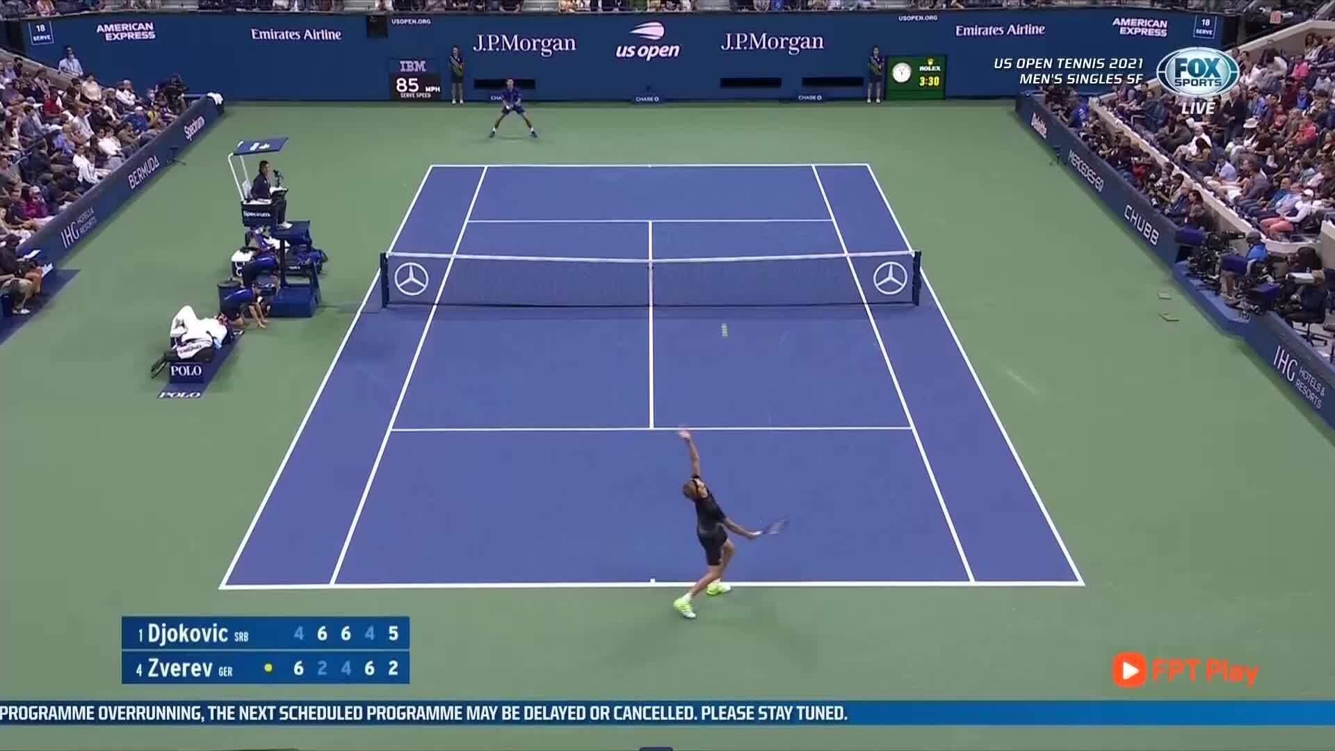 Djokovic menang dalam lima set