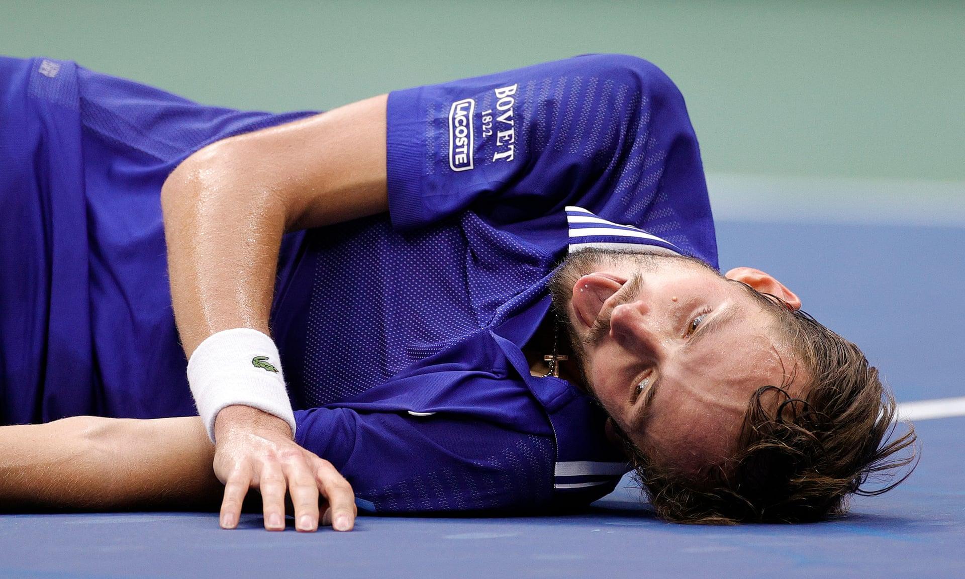 Djokovic 0-3 Medvedev