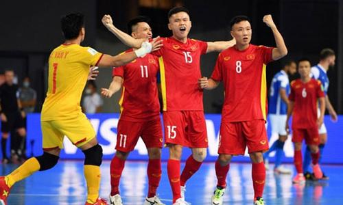 Česká republika 1-1 Vietnam