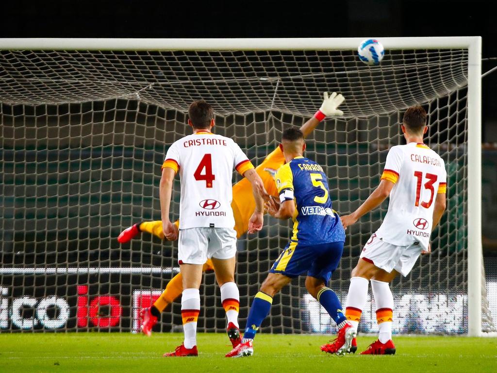 Verona 3-2 Roma