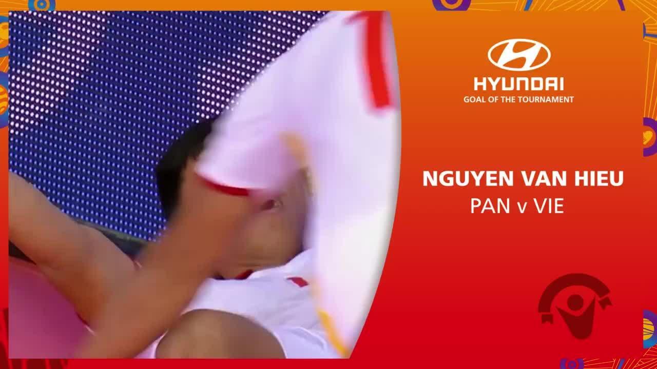 Việt Nam dẫn đầu đề cử bàn đẹp nhất futsal World Cup