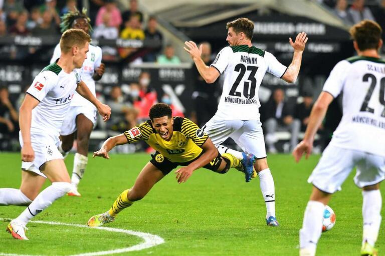 M'gladbach 1-0 Dortmund
