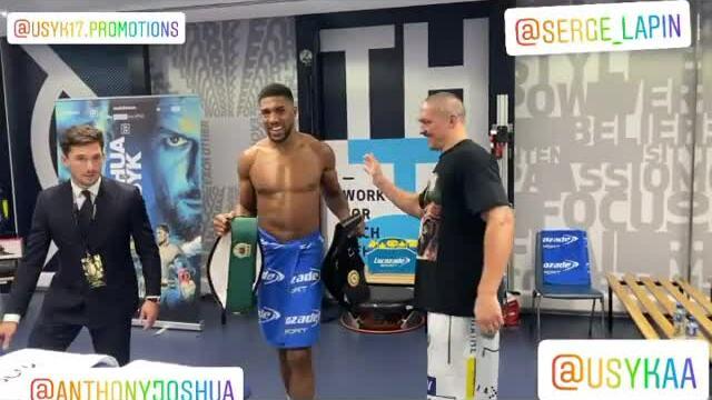 Usyk trả lại bốn đai hạng nặng cho Joshua