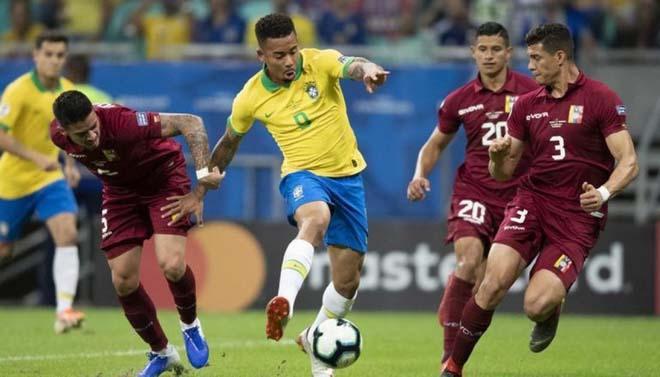 Venezuela 1-3 Brazil