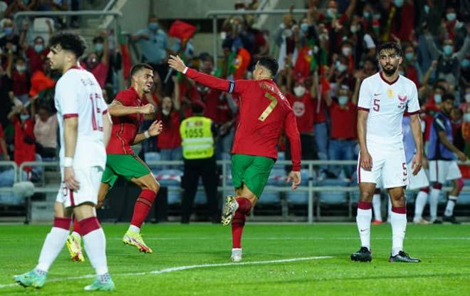 Bồ Đào Nha 3-0 Qatar