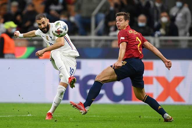 Tây Ban Nha 1-2 Pháp