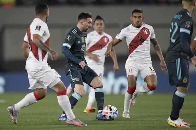 Argentina 1-0 Peru
