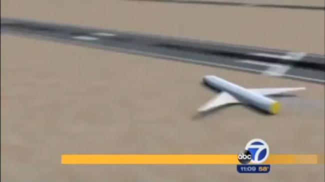 Mô phỏng cú hạ cánh của máy bay Boeing 777