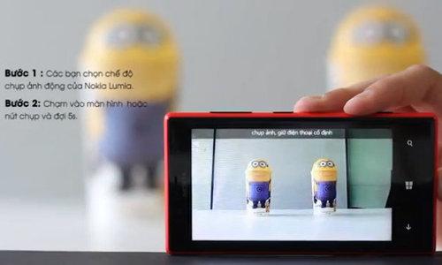 Clip huong dan tao anh dong cung Nokia Lumia