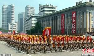 Triều Tiên duyệt binh lớn mừng 65 năm quốc khánh