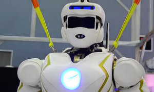 Robot cứu hộ hình người của NASA