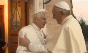 Hai Giáo hoàng gặp mặt dịp Giáng sinh