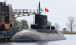 Tàu ngầm Kilo Hà Nội ở Cam Ranh