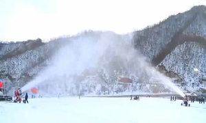 Bên trong khu trượt tuyết cao cấp của Triều Tiên