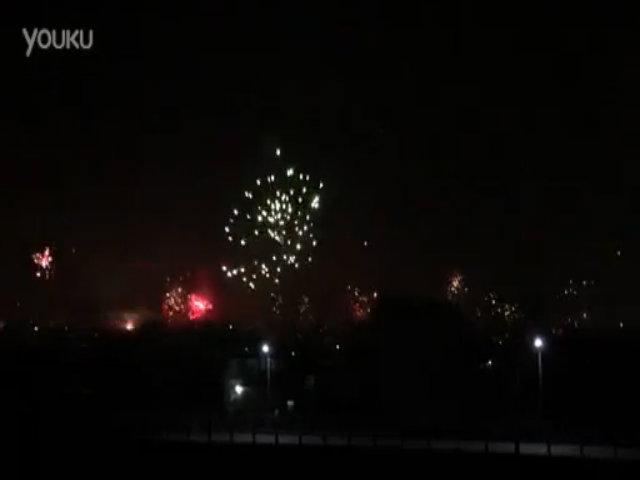 Pháo hoa mừng năm mới ở Trung Quốc