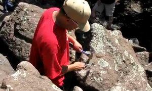 Bãi đá phát âm thanh như kim loại