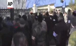 Trụ sở tư lệnh hải quân Ukraine ở Crimea bị chiếm