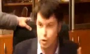 Giám đốc Đài truyền hình Ukraine bị nghị sĩ đánh đập
