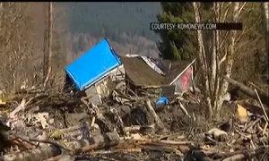 Lở đất ở tây bắc Mỹ, 4 người thiệt mạng
