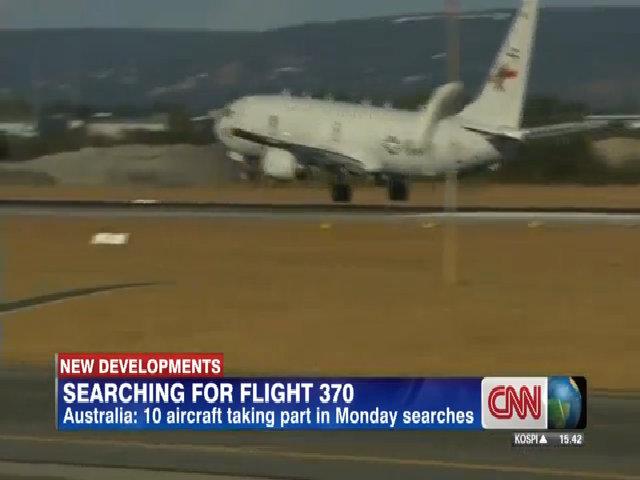 Phi cơ Poseidon P-8 của Hải quân Mỹ tìm MH370