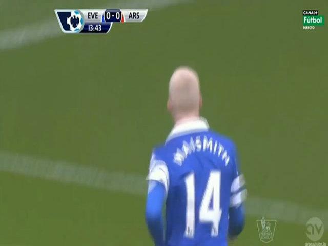 Naismith mở tỷ số cho Everton