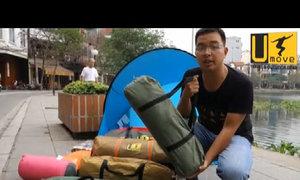 Chọn lều và hướng dẫn cách dựng lều