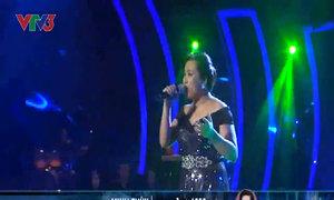 Minh Thùy hát 'Khoảnh khắc tuyệt vời'