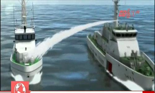 Hình ảnh 3D mô phỏng tàu Trung Quốc đâm tàu Việt Nam