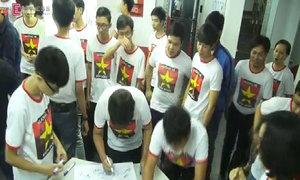 Sinh viên sôi nổi hoạt động 'Hướng về biển Đông'