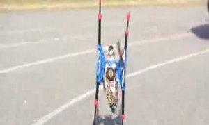 Robot 6 chân chạy nhanh nhất thế giới