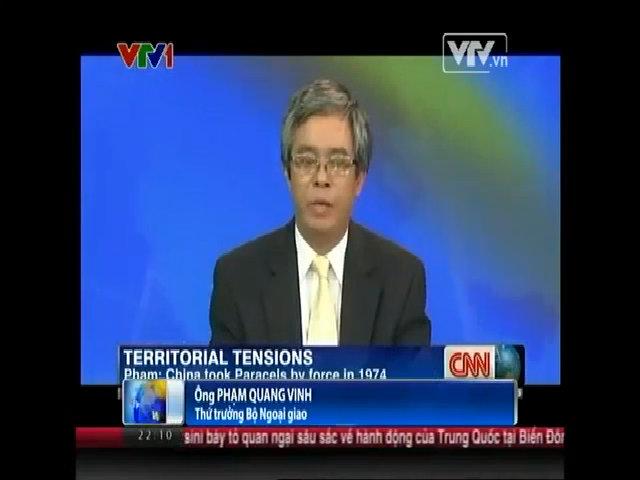 Thứ trưởng ngoại giao trả lời phỏng vấn CNN