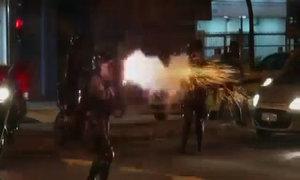 Cảnh sát Brazil nổ súng trong biểu tình chống World Cup