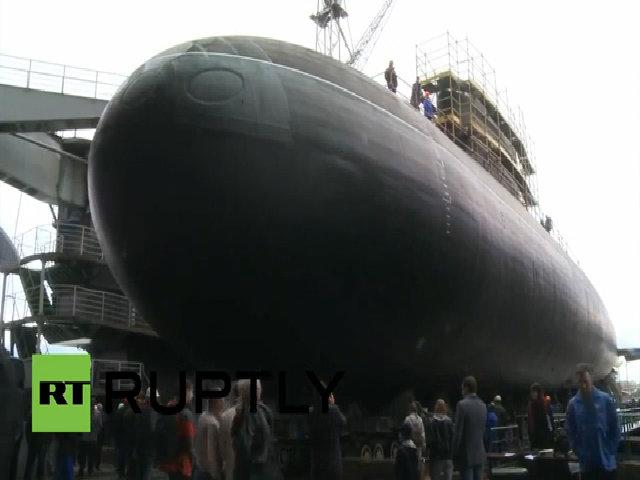 Nga hạ thủy tàu ngầm Kilo cải tiến cho Hạm đội Biển Đen