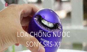 Thử loa không dây mini chống nước Sony SRS-X1