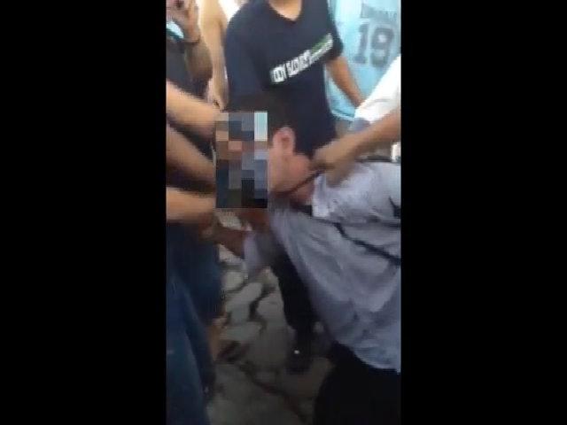 Thanh niên bị đánh hội đồng vì cướp điện thoại