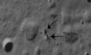 Bóng đen bí ẩn trên Mặt Trăng