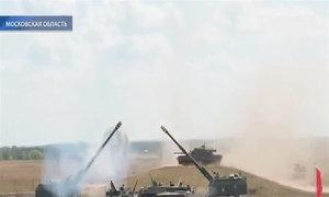 Vũ khí trổ tài trong triển lãm quốc phòng Nga