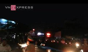Hàng trăm con nghiện phá trung tâm, kéo về thành phố Hải Phòng