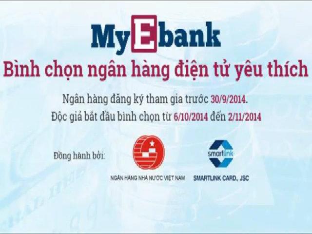 My Ebank - Bình chọn ngân hàng điện tử yêu thích