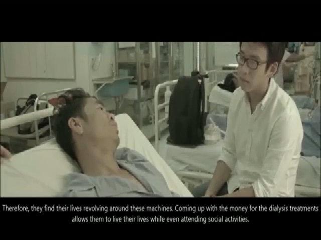 Clip cảm động về những bệnh nhân bị suy thận mạn tính