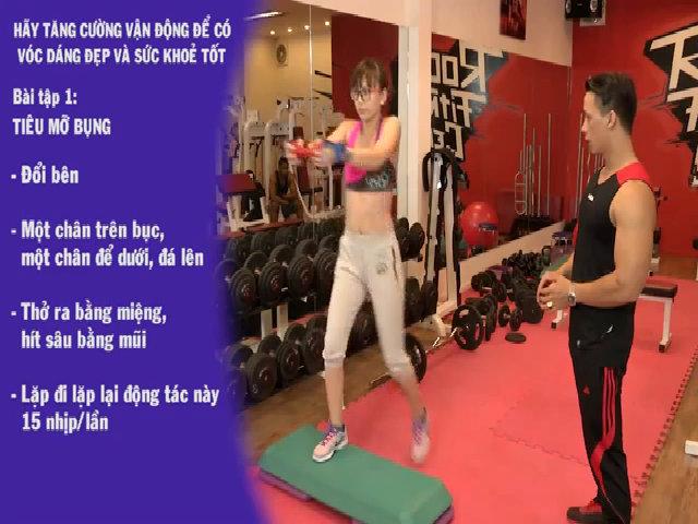 Phương pháp tập luyện hỗ trợ giảm cân
